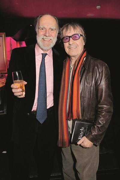 Viscount Cowdray and Bill Wyman