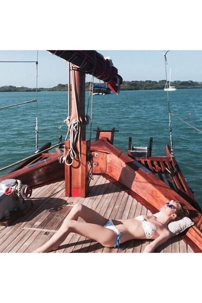 Tough life for Poppy Delevingne