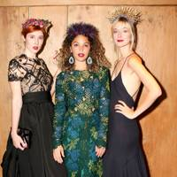 Paula Goldstein di Principe, Cleo Wade and Caitlin Fitzgerald