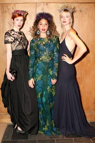 Paula Goldstein di Principe, Cleo Wade and Caitlin Fitzgerald