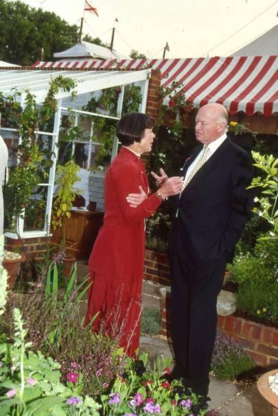 Mrs Robert Fearnley-Whittingstall and Charles Hambro