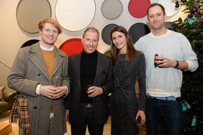 Sebastian Cox, Viscount Linley, Carmel Allen and Anthony Dickens