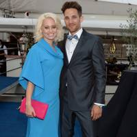 Kimberley Wyatt and Max Rogers