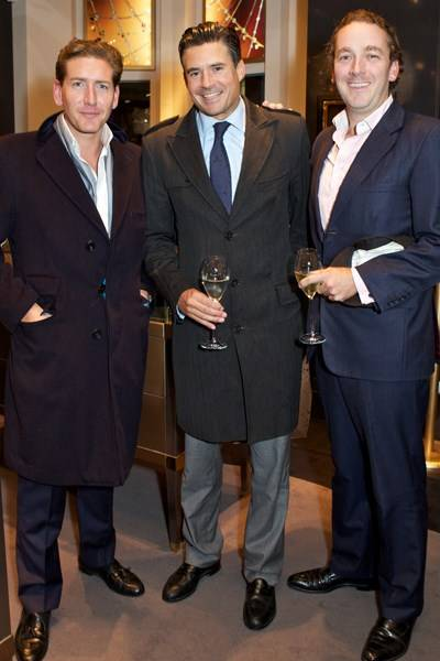 Christopher Penna, Edward Taylor and Damian Delahunty