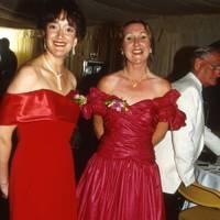 Mrs David Corbin and Freda Goddard