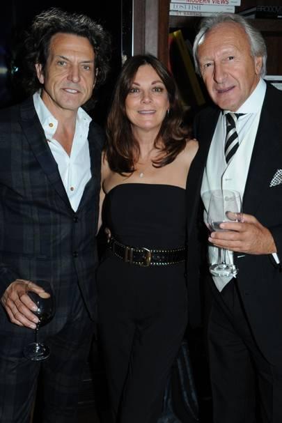 Stephen Webster, Susan Young and Harold Tillman