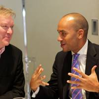 Phil Lobb and Chukka Umunna