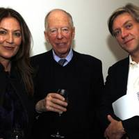 Susanne Kapoor, Lord Rothschild and Tom Smail