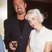 George Michael and Paula Yates