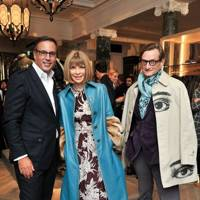 Harry Slatkin, Anna Wintour and Hamish Bowles