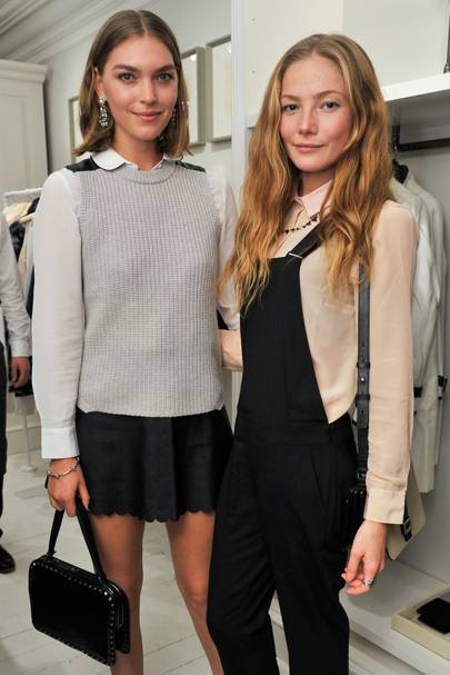 Arizona Muse and Clara Paget