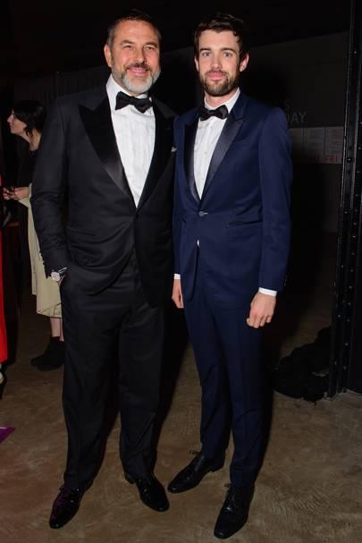 David Walliams and Jack Whitehall