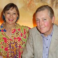 Jenny Agutter and Johan Tham