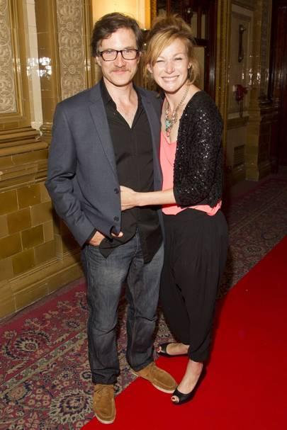 Jo Stone-Fewings and Nancy Carroll