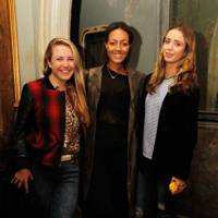 Ailsa Miller, Alice Casely-Hayford and Jasmine Contonichalos