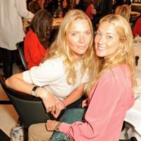 Jodie Kidd and Heidi Bishop