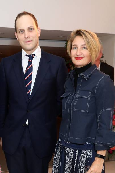 Lord Frederick Windsor and Zoe Jordan