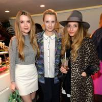 Katie Berrington, Emily Berrington and Athena Procopiou