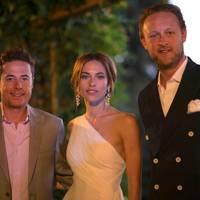 Justin Etzin, Lana Etzin and Edward Spencer-Churchill
