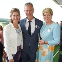 Dame Katherine Grainger, Mark Foster and Clare Balding