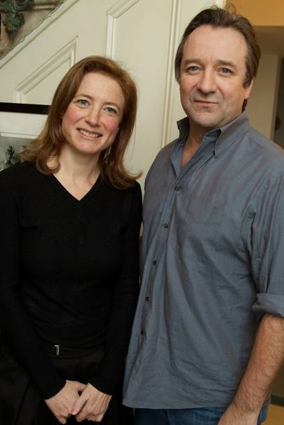 Susanna Gross and Neil Pearson