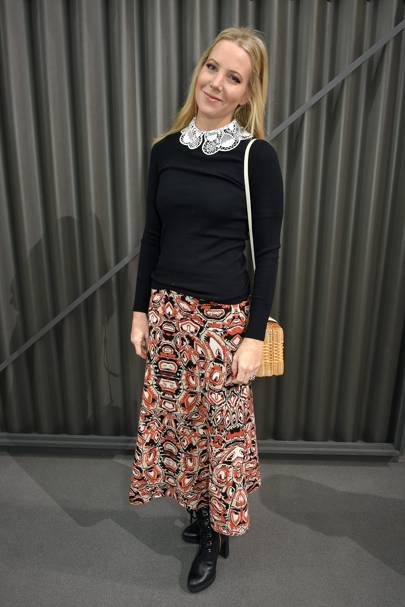 Alice Naylor-Leyland at Temperley London A/W18