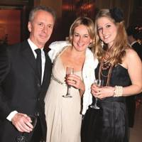 Peter Fincham, Claire Fincham and Olivia Bracken