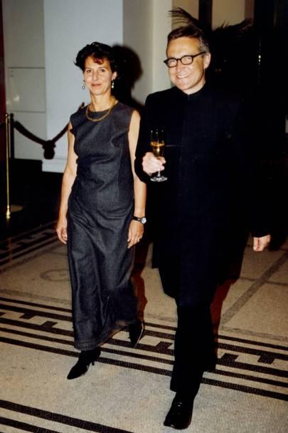 Stephen Bayley and Mrs Stephen Bayley