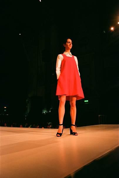 Edinburgh charity fashion show models dress