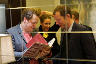 Tom Parker Bowles and Nathaniel de Rothschild