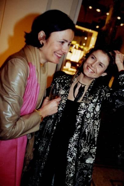 Isabelle Fraysse and Caroline Kellet
