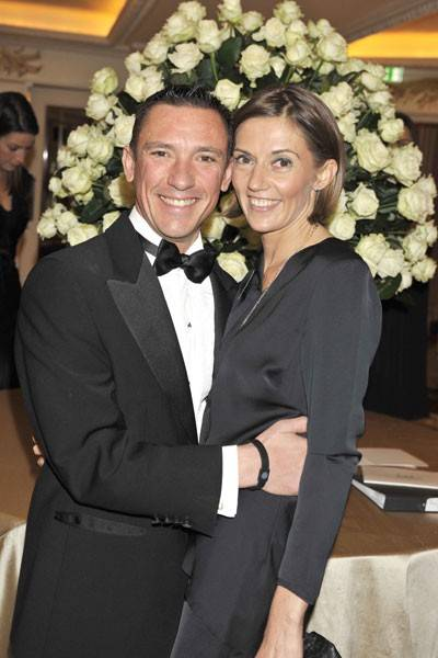 Frankie Dettori and Catherine Dettori