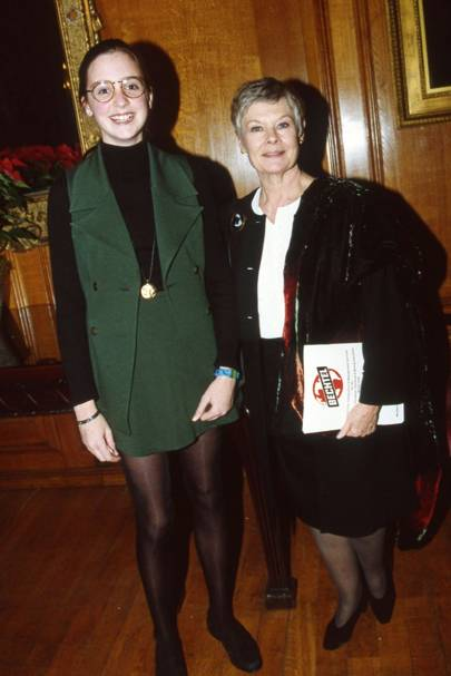 Kate Levin and Dame Judi Dench