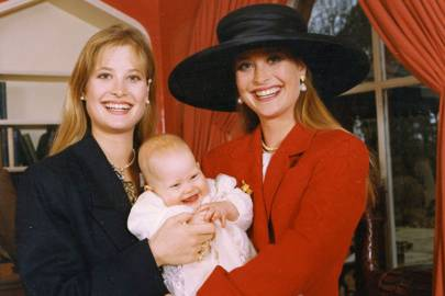 Mrs Rupert Cordle, Eliza Sangster and Lucy Sangster