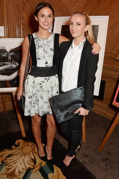 Lucy Watson and Tiffany Watson