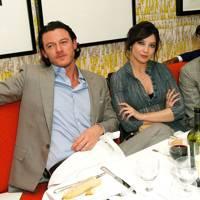 Luke Evans, Daisy Lowe and Nick Grimshaw