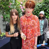 Fee Greening and Florence Welch
