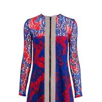 Lace dress, £780, by Carven