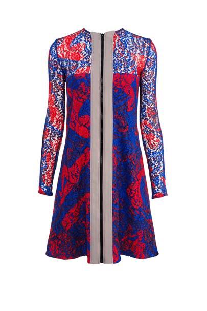 Lace dress, £780, by Carven