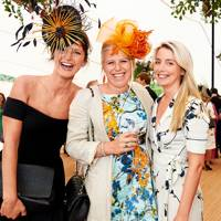 Olivia Hearn, Zara Wingfield Digby and Lucy Thomson