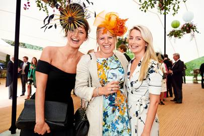 Olivia Hearn, Zara Wingfield Digby and Lucy Thomson