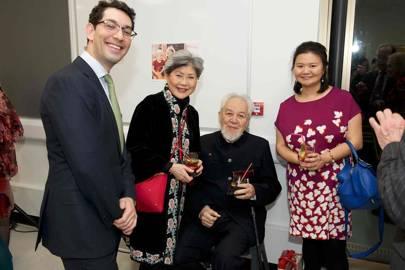 Elliot Bancroft, Sherry Kuei, Chan Sheng and Cynthia Liu