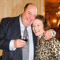Nicholas Soames and Lady Keswick