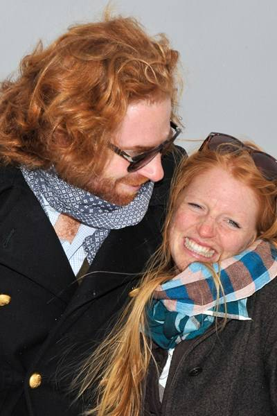 Patrick Liotard-Vogt and Milena Liotard-Vogt