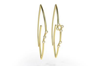 Jessie V E earrings
