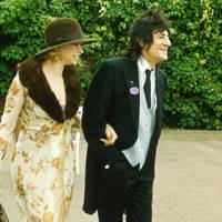 Mrs Ronnie Wood and Ronnie Wood