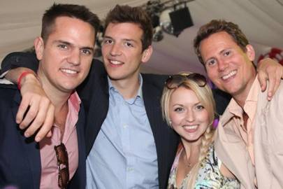 Sam Mathews, Mathew Dichler, Lizzie Bryce and Harry Breakwell