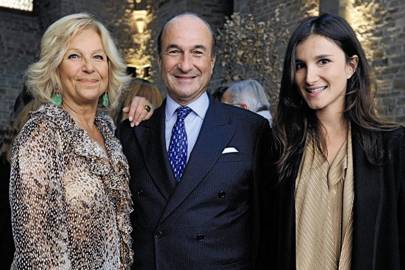 Maria Franco, Ilaria Norsa and Michele Norsa