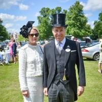Viscountess and Viscount Linley, Royal Ascot, 2012