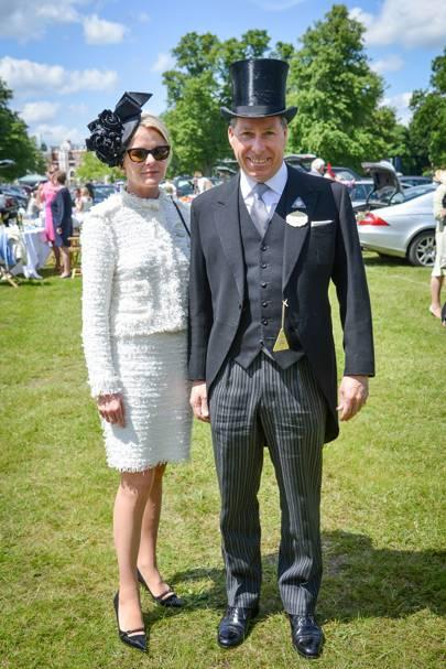 Viscountess and Viscount Linley, Royal Ascot, 2012